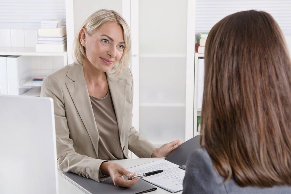 Entretien d'embauche by Mademoiselle M