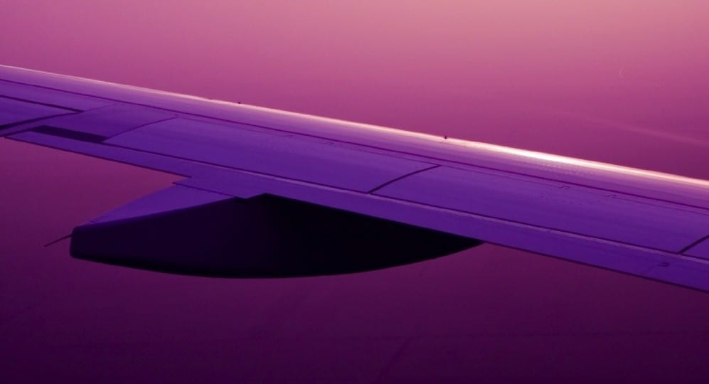 Aile d'avion by Mademoiselle M
