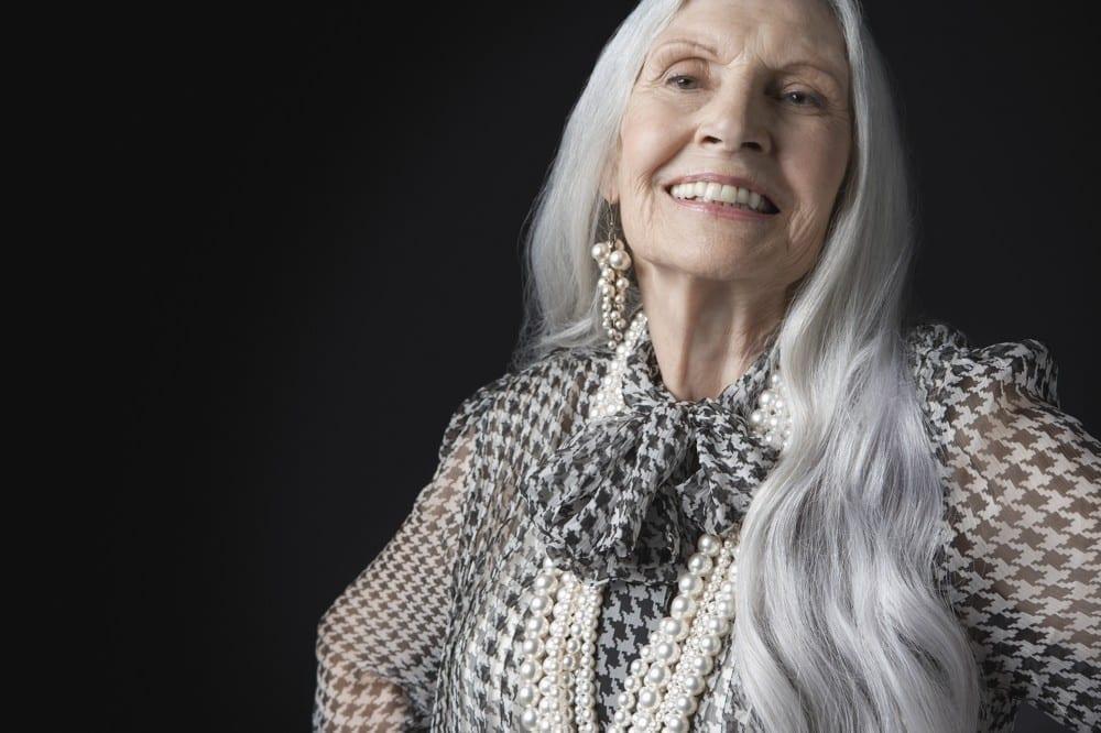 Allure folle senior cheveux longs by Mademoiselle M