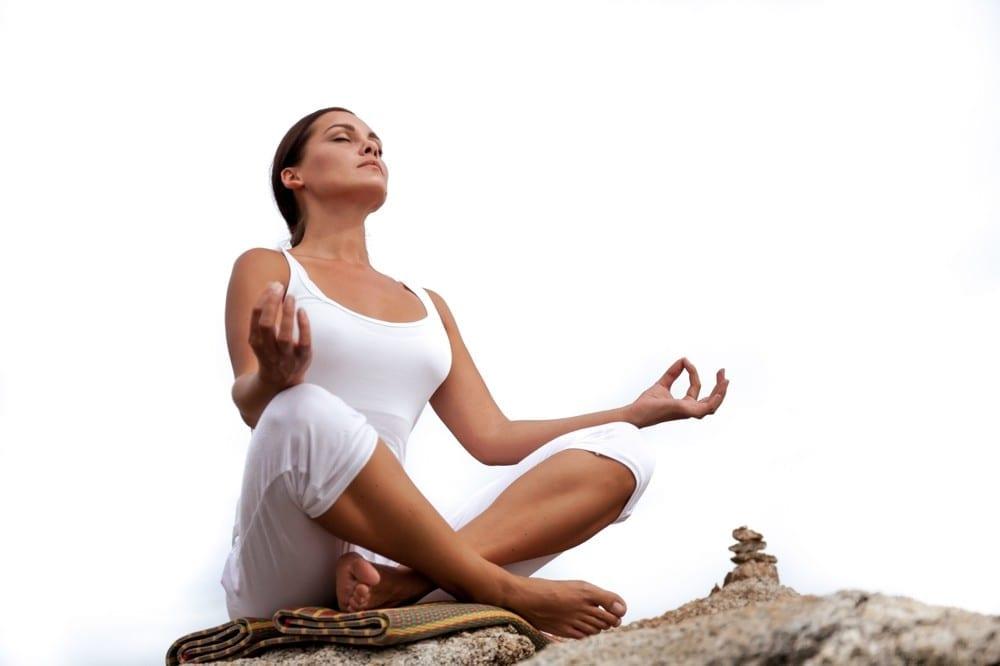 Déterminée posture méditation by Mademoiselle M