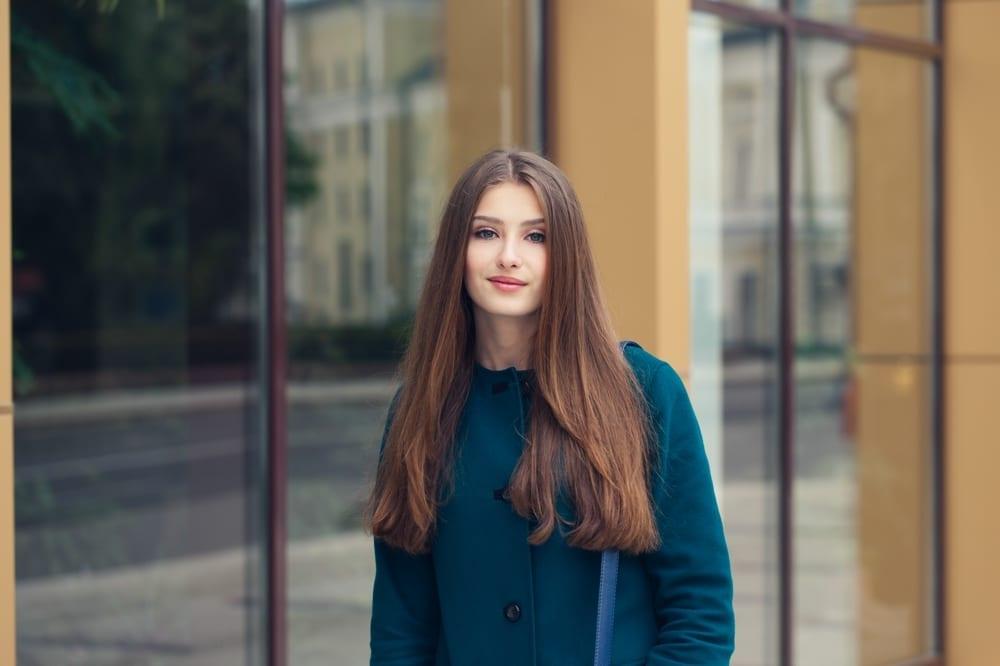 10 astuces pour votre élégance - Mademoiselle M Manteau bleu
