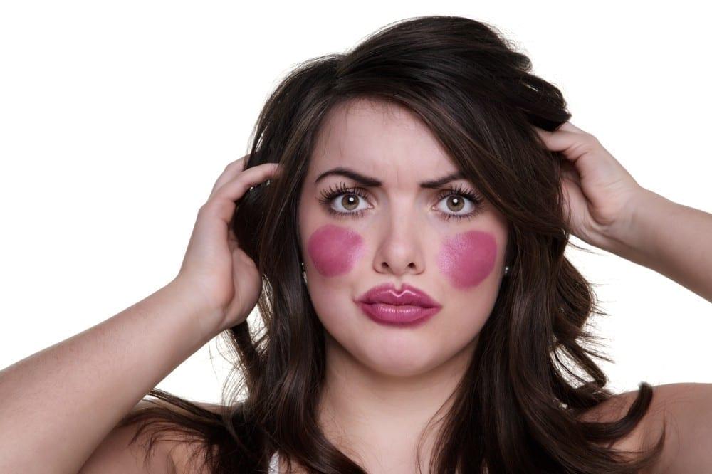 Rouge à joues et lèvres de clown ny Mademoiselle M