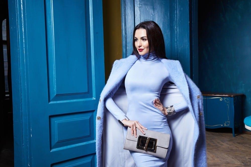Femme en bleu by Mademoiselle M