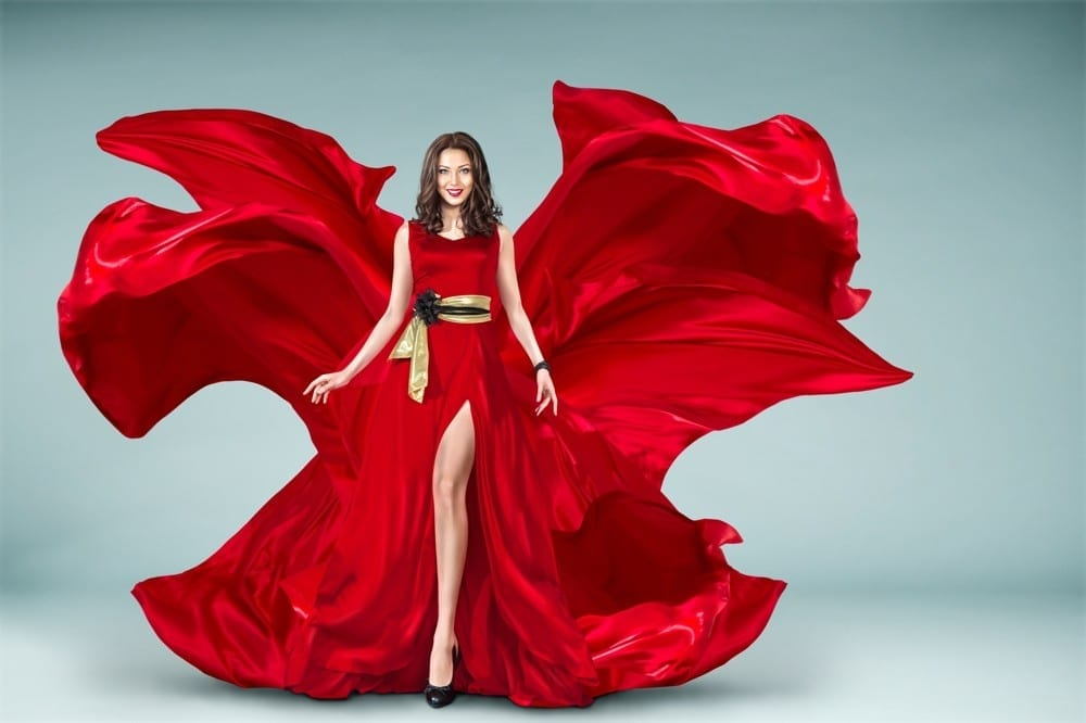 Rouge Robe rouge by Mademoiselle M