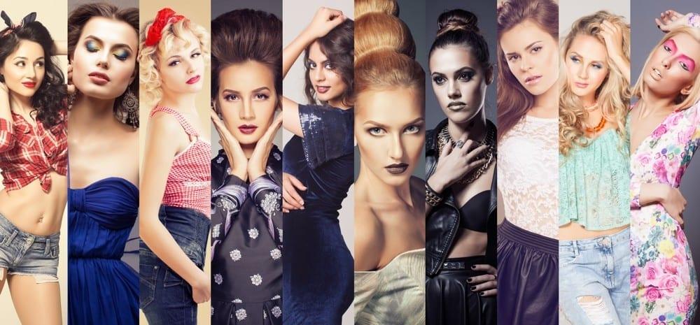 Styles différentes femmes mosaïque by Mademoiselle M