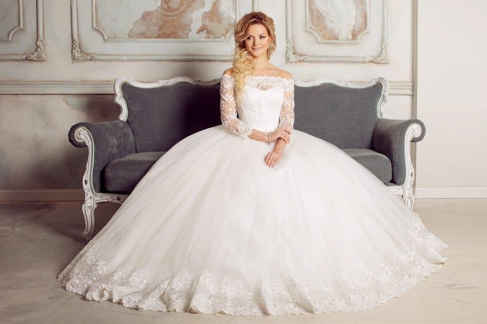 Mariée robe de princesse by Mademoiselle M