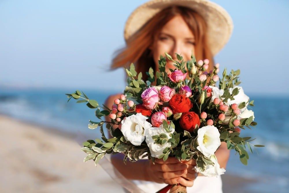 S'aimer bouquet de fleurs by Mademoiselle M
