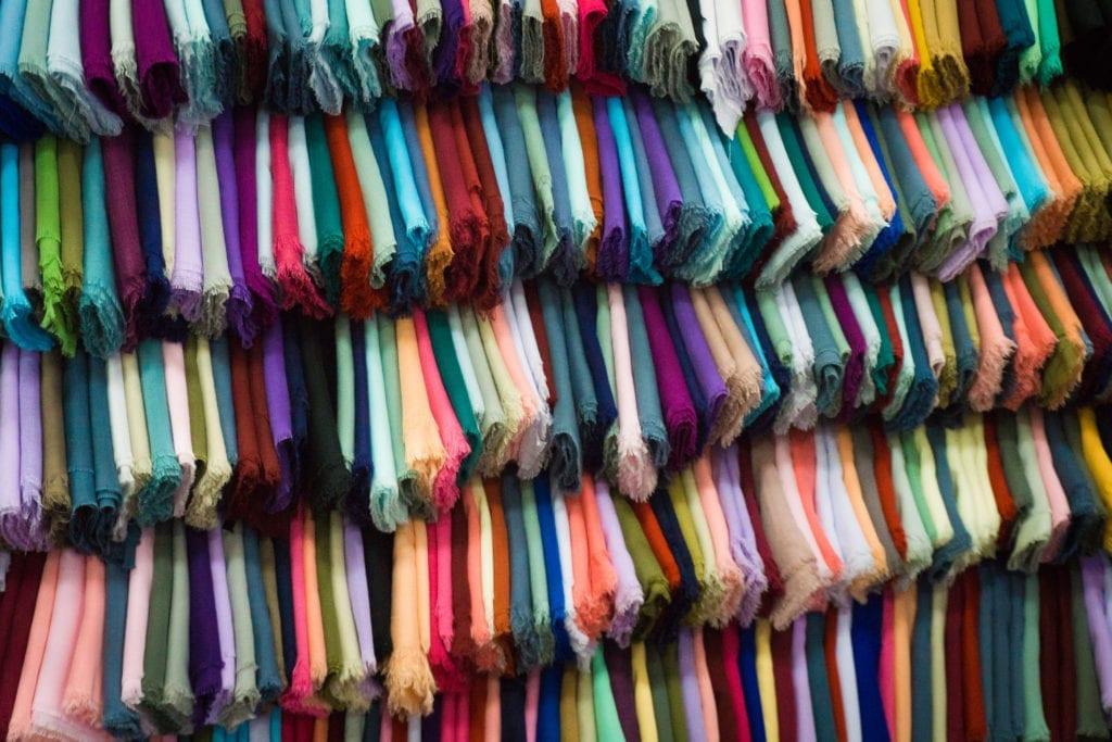 Tissu coloré by Mademoiselle M