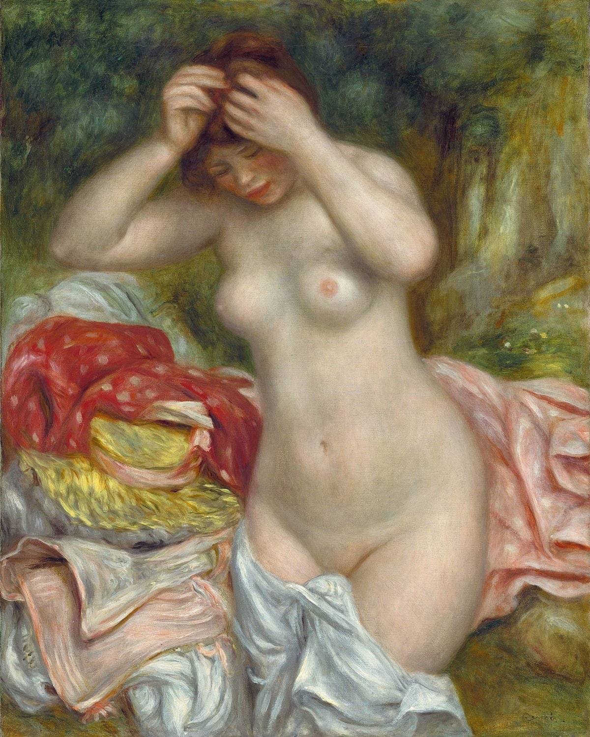 Aimez-vos-formes-MademoiselleM-Bather-Arranging-her-Hair-Renoir